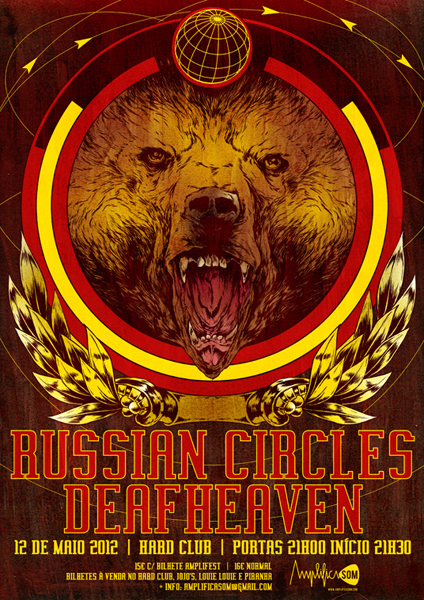 Russian Circles Live Tour Poster